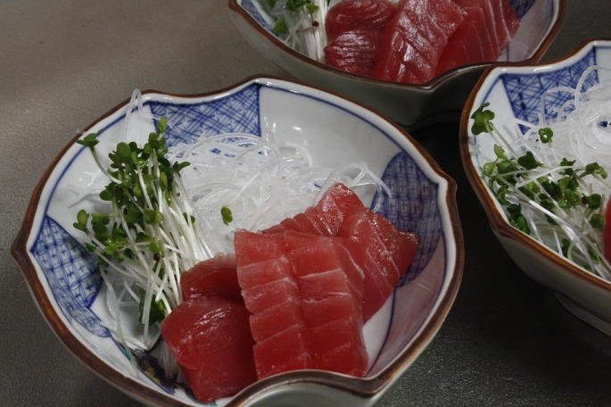 tuna, heart healthy, fish